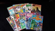 Marvel and D.C. Comic Books