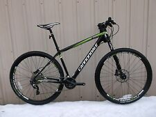 Cannondale F29 Carbon 4 Large SLX Shimano Stans Lefty 29er Hardtail NEW