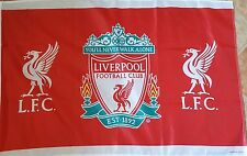 Liverpool Official Flag - Club Crest - Liverpool FC 3 x 2 - Great Gift Idea!