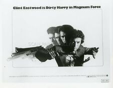 CLINT EASTWOOD PHILIPPE HALSMAN MAGNUM FORCE 1973 VINTAGE PHOTO ORIGINAL #1