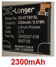 Batterie 2300mAh type 35H00207-01M BN07100 Pour HTC One (M7)