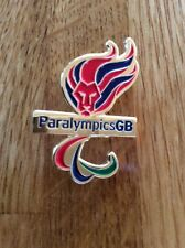 Paralympic Paralympics GB olympic team pin badge