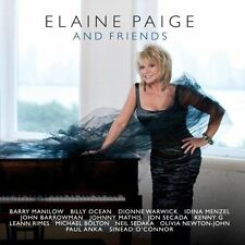 Elaine Paige - Elaine Page & Friends CD - Barry Manilow, Billy Ocean, Kenny G