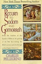 Return to Sodom and Gomorr by Charles R. Pellegrino (1995, Paperback)