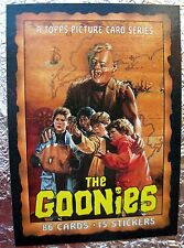THE GOONIES 1985 TOPPS 42 Movie CARDS and UNCHECKED CHECKLIST Steven Spielberg