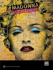Madonna Celebration Sheet Music Piano Vocal Guitar SongBook NEW 000701624