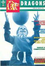 Dragones N ° 28 mar 1995 Rugby Mag derwyn Jones Robert Jones Nigel Walker