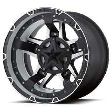 17 inch Black XD Series Rockstar 3 Wheel Rim Jeep Wrangler JK 5x5 5x127 SINGLE