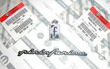 "ALFA ROMEO GTV SPIDER BRERA  New 100% Genuine "" PININFARINA F "" Badge Emblem Set"