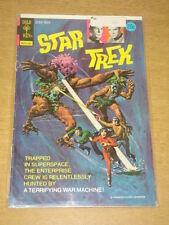 STAR TREK #22 VG (4.0) GOLD KEY COMICS JANUARY 1974