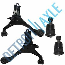 4 pc 2 Front Lower Control Arm + 2 Lower Ball Joint Kit for Honda Civic Acura EL