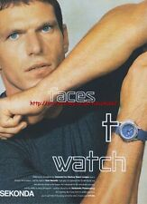 "Sekonda Watch ""Faces To Watch""  Magazine Advert #3034"