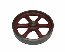 "RDGTOOLS STEAM ENGINE 4"" FLYWHEEL MACHINED CASTING COMPATIBLE WITH STUART"