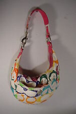 MULTI COLORS Authentic COACH canvas Shoulder bag 5658