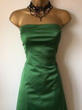 Stunning Coast Emerald Green Coast Dress Sz 10 12 Vgc straps inc