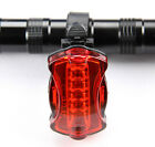 5 LED Cycling Bike Bicycle Taillight Safety Warning Lamp Rear Light 6 Mode AAA