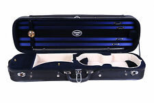 Brand New Tonareli 4/4 Violin Hard Oblong Case Navy
