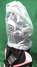 """Rain Hood for golf bags  """"NEW""""  Transparent hood with pull tie closure system"""