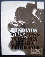 HUSBANDS DP+Phot GAZZARA CASSAVETES Peter FALK Macho Sam SHAW 1970