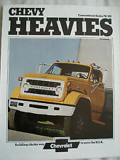 Chevrolet Conventional Series 70 80 brochure 1973