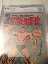 PRINCE NAMOR THE SUB MARINER #1 CBCS 8.0! OFF WHITE/WHITE PAGES! Not CGC