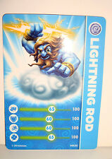 CARTE FIGURINE FIGURE JEUX VIDEO SKYLANDERS - LIGHTNING ROD