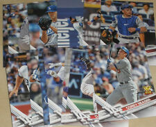 2017 LOS ANGELES DODGERS 40 Card Lot w TOPPS TEAM SET 25 Spring Training Players