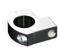 Collier guidon montage rétroviseur montage universel m10 tube 25mm (91-7862)