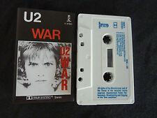 U2 WAR ULTRA RARE AUSSIE CASSETTE TAPE!