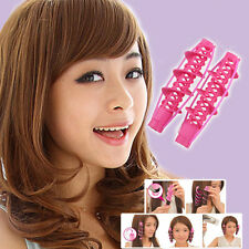 Women Fashion Curler Magical Big Wave Curl Roller With Rubber Hair Styling Tools