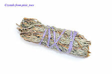 "Sweet Smellling Sage Smudge Stick, 4"" (10cm) Cleanse & Remove Negativity Wiccan"