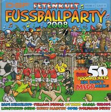 Fussballparty 2008 - Fetenkult 2 CD NEU Jürgen Drews Toten Hosen OPUS Brings