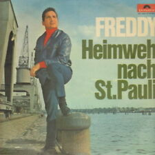 "12"" Freddy Heimweh nach St. Pauli (The Lonesome Star, Mein Hamburg) 60`s"