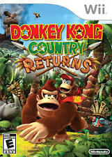 DONKEY KONG COUNTRY RETURNS FOR WII NTSC