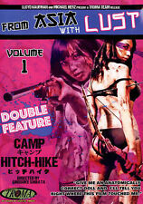 2 THRILLERS RATED R 'FROM ASIA WITH LUST' 2 MOVIES 'CAMP' & 'HITCH-HIKE' DVD!!!