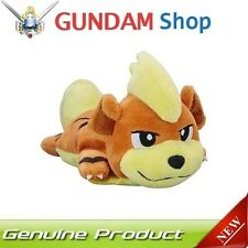 POKEMON Center Original Plush Doll Kuttari Cutie Growlithe Awake JAPAN