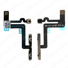 Power Volume Control Mute Button Mic Flex Cable Parts For iPhone 6 Plus 5.5""