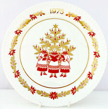 VINTAGE SPODE Christmas Collector Plate BONE CHINA CORO Ragazzi Retro 1975