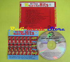CD 16 ALL-TIME ROCK'N ROLL HITS compilation ORBISON BERRY HALEY (C9) no lp mc
