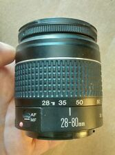 Canon Zoom EF 28-80mm 1:3.5-5.6 II Lens Fits all EOS SLR.