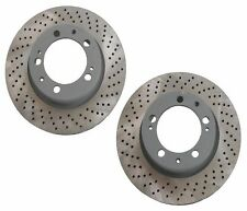 2-Pieces Sebro Made in Germany Front Disc Brake Rotors Porsche 911(993) NEW