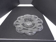 "Jefferson Krys-Tol Chippendale Plate Clear Crystal 8 3/4"" D ca1907-20s"
