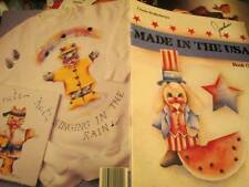 Made In The USA Painting Book-Wollenberg-Karate Cat/Fish/Humpty Dumpty/Cats/Bunn