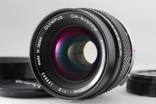 【Near MINT】 Olympus OM-System Zuiko Auto-W 35mm f/2 Wide Angle Lens from Japan