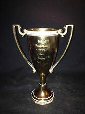 "1960 7 1/2"" Bicknell Invitational Ski Jumping Loving Cup Trophy"