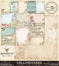 BLUE FERN STUDIOS- SERENDIPITY PAPER COLLECTION PACK- 10 SHEETS