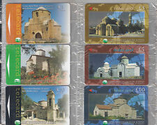 CYPRUS THE COMPLETE SET OF 15 CYTA TELECARDS MEGA RARE Opt SPECIMEN !! PHONECARD