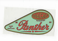 Qualcast Panther Vintage Mower 'Light Green' Chain Cover Repro Decal