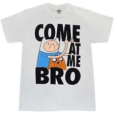 Adventure Time With Finn & Jake Come At Me Bro Cartoon Network T Tee Shirt L