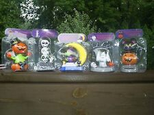 Set of 5  Solar Powered Dancers & Swingers Halloween Party Toy Figurien's